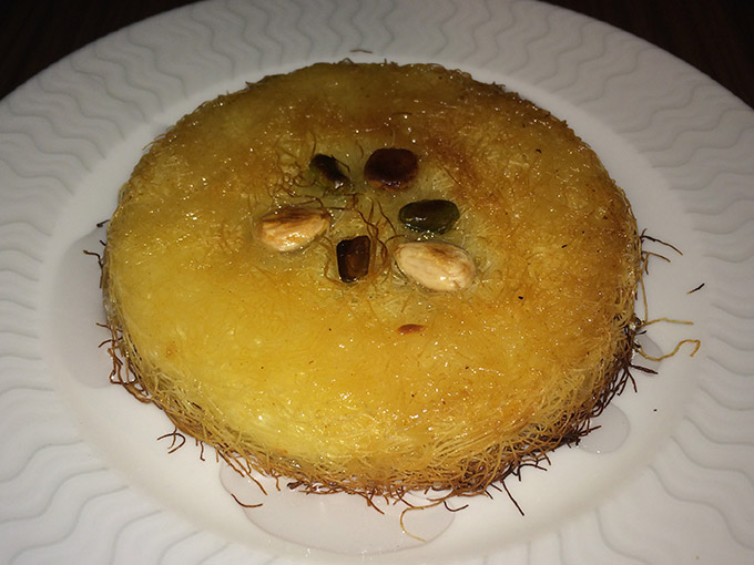 yomo - cheese kanafeh