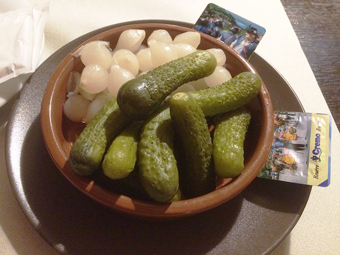 Chateau d'If - pickles