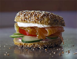 Philly Style Bagels makes the best new sandwich according to Bon Appétit