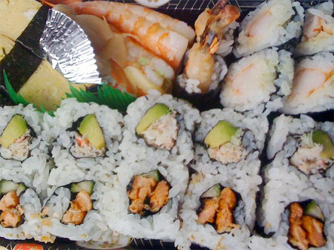 Sansui - sushi