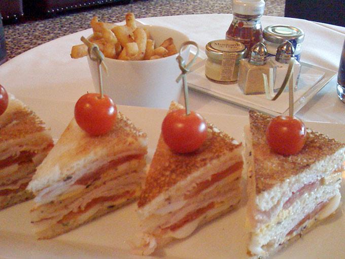 La Réserve - club sandwich