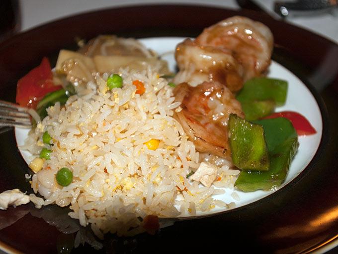 Tse Fung - rice and shrimp
