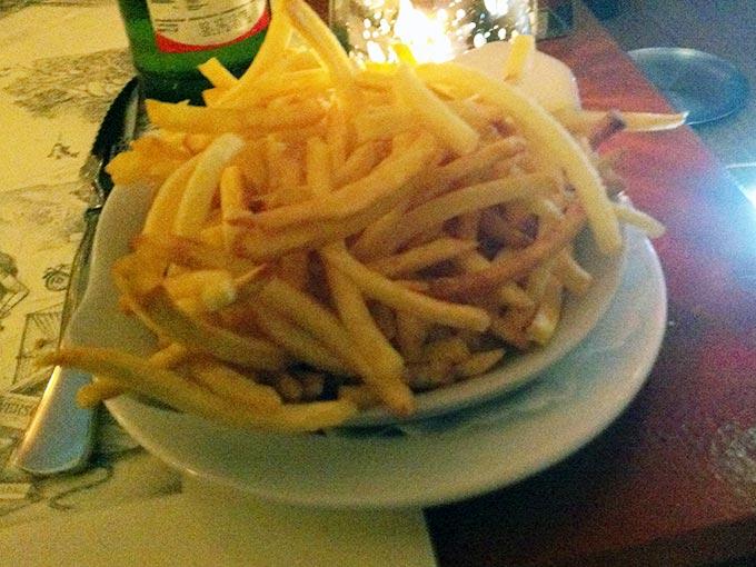Auberge du Lion d'Or - fries