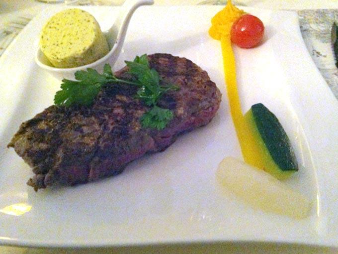 Auberge du Lion d'Or - steak