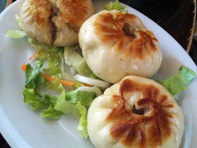 Le Thé - dumplings