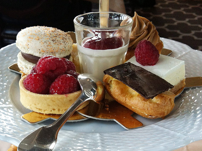 Hôtel d'Angleterre - pastries