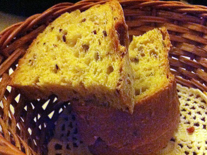 Auberge de Dully - bread