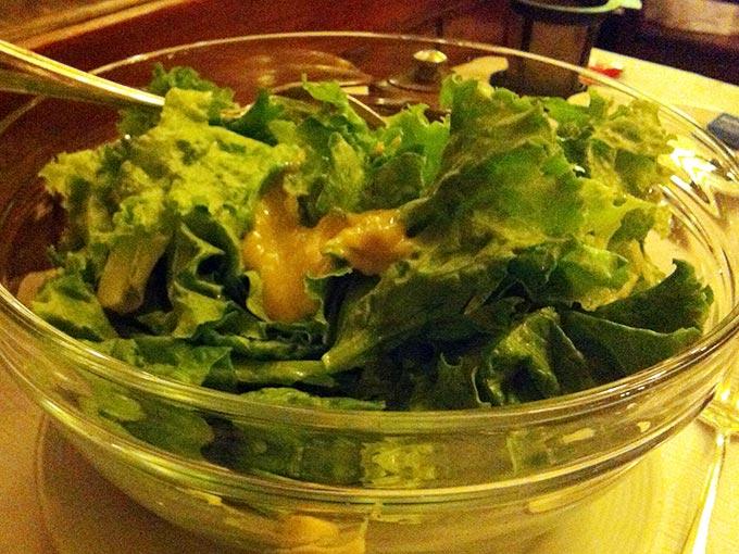 Auberge de Dully - salad