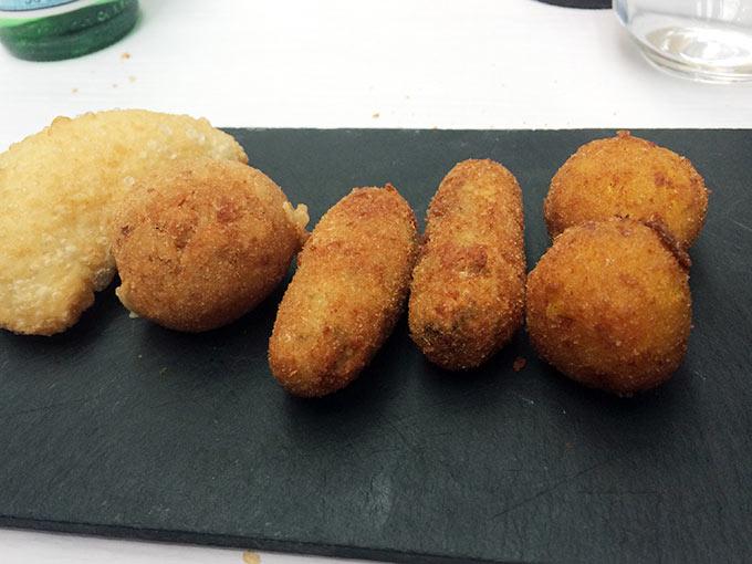 Brasserie da Matteo - fried starters