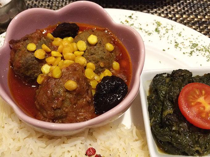 Kutchi restaurant - meatballs