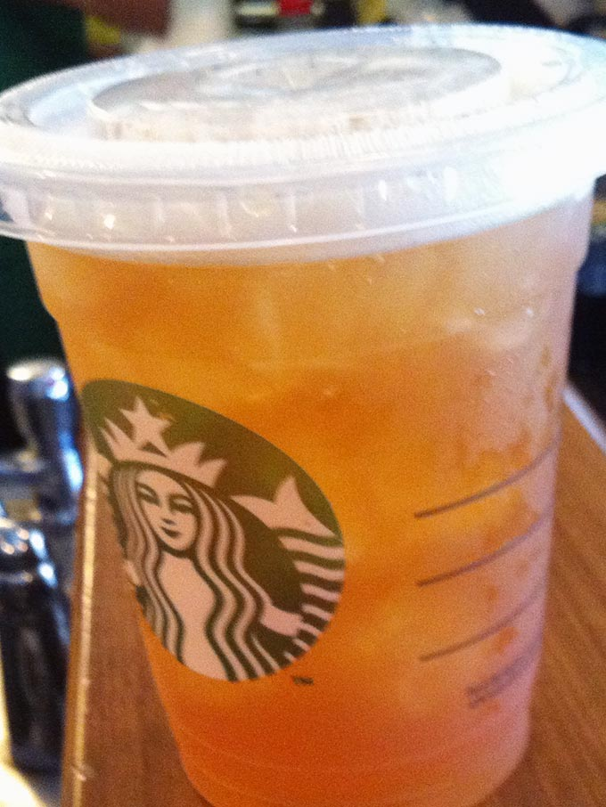 Starbucks - ice tea