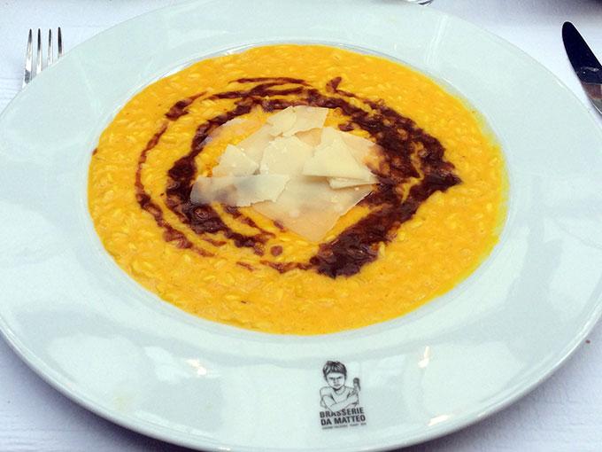 Brasserie da Matteo - risotto Milanese