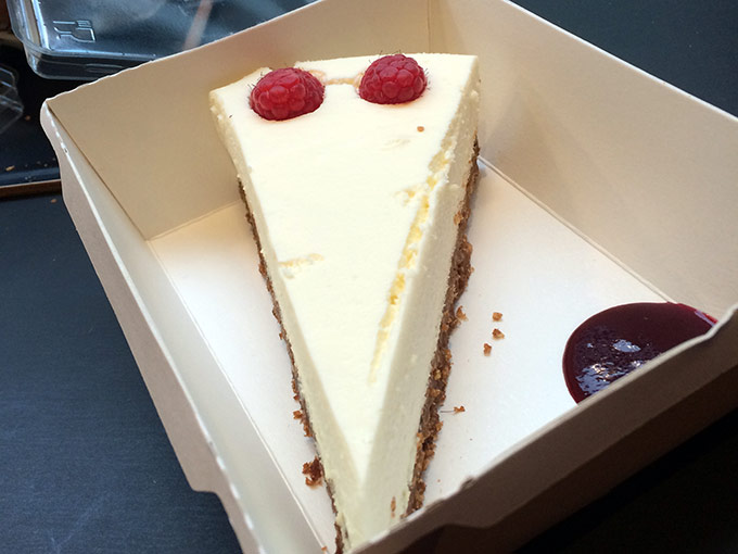 Street Gourmet - cheesecake