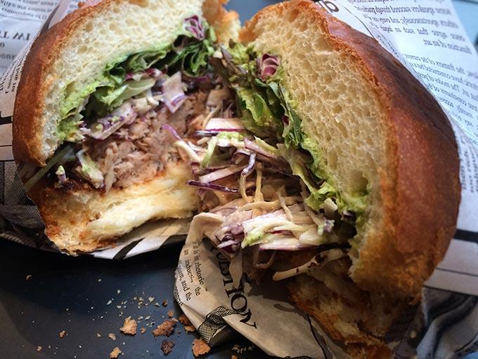 Street Gourmet - sandwich
