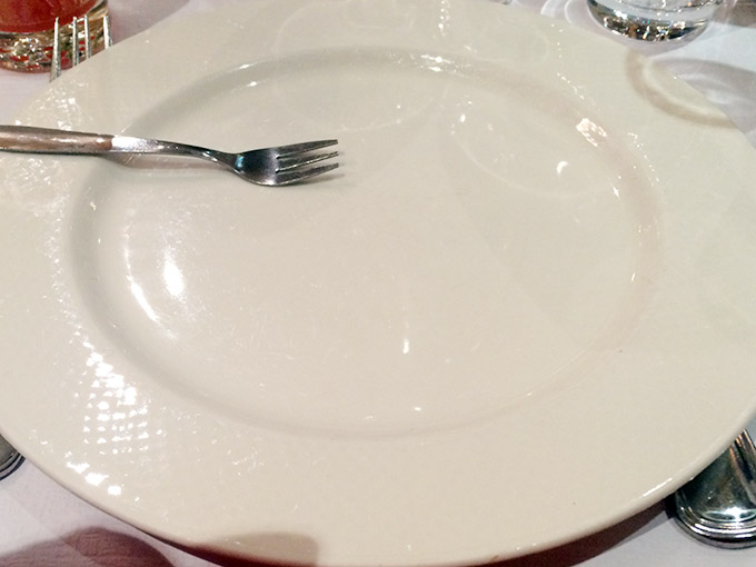 Café du Centre - plate