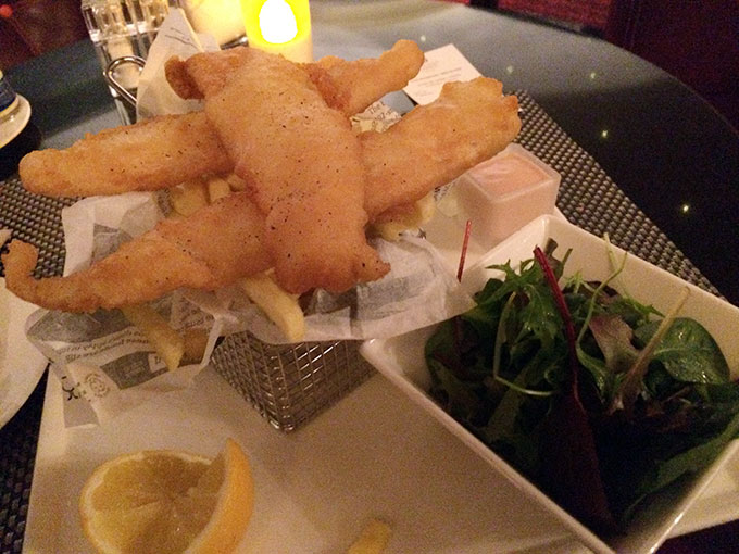 Kempinski - fish & chips