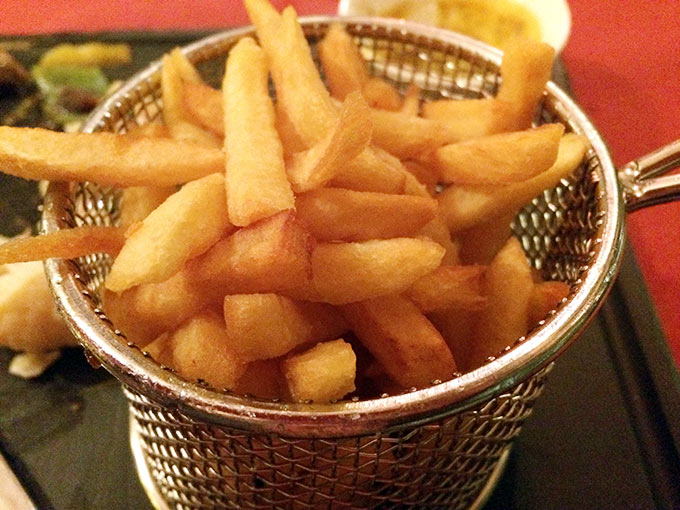 Café des Sources - fries