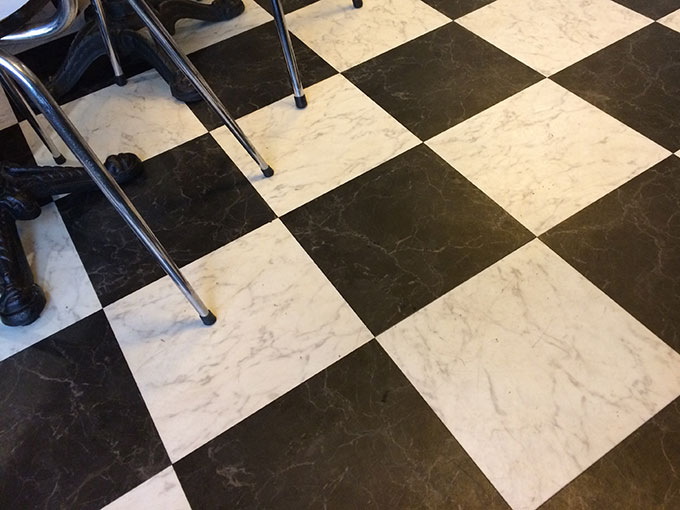 The Hamburger Foundation - checkerboard pattern
