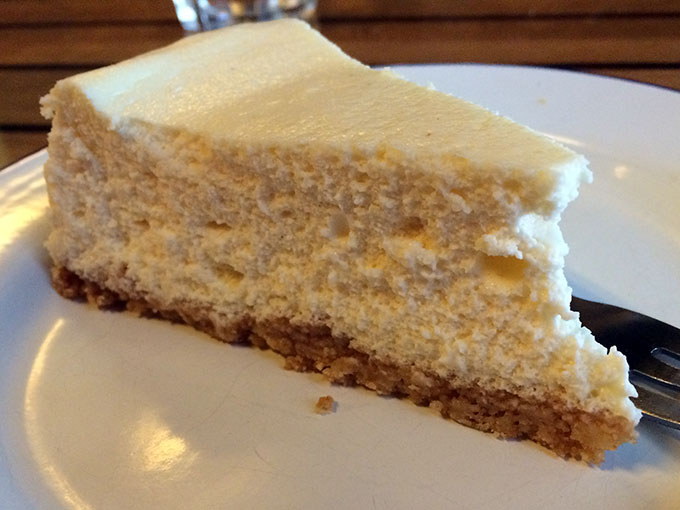 The Hamburger Foundation - cheesecake