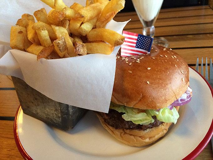 The Hamburger Foundation - burger and fries