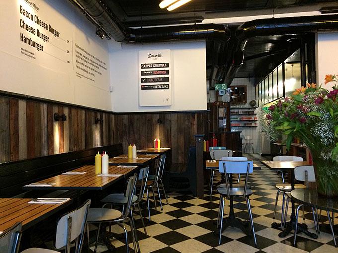 The Hamburger Foundation - restaurant