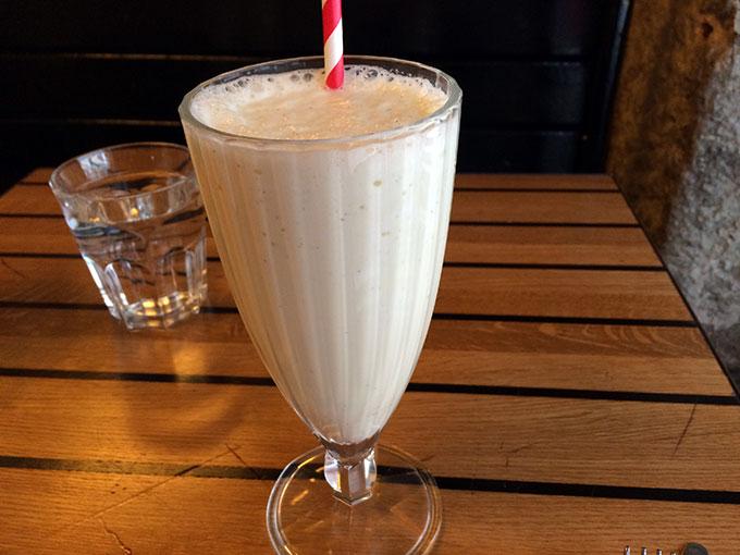 The Hamburger Foundation - vanilla shake