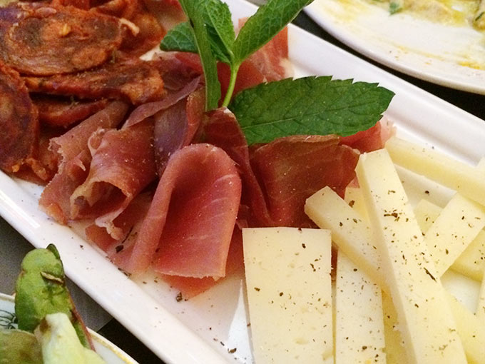 Cottage Café - ham and cheese
