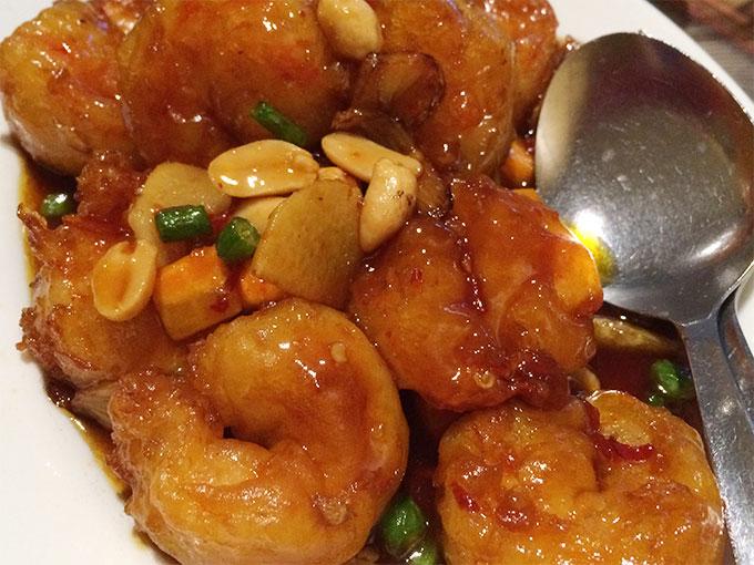 China Garden - kung po shrimp