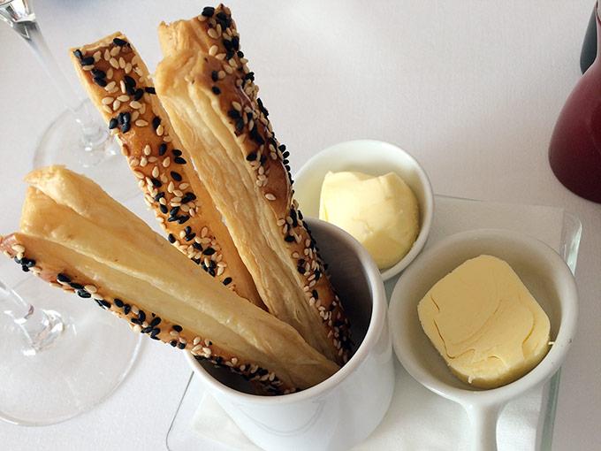 Le Baron Tavernier - puff pastry breadsticks