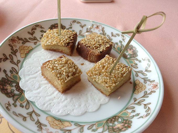 Tse Yang - sesame chicken toast