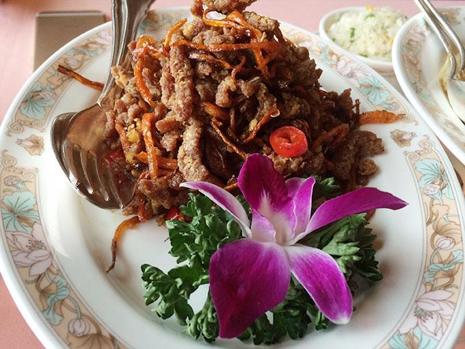 Tse Yang - crispy beef