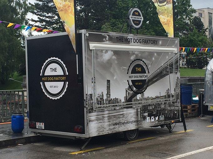 Geneva Food Festival - The Hot Dog Faktory Food Truck