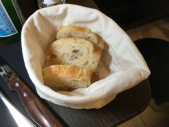 Osteria Zaza - bread