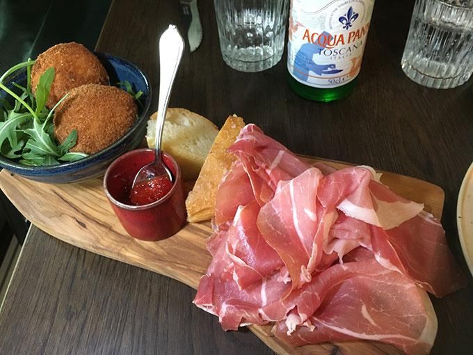 Osteria Zaza - mozzarella in carrozza