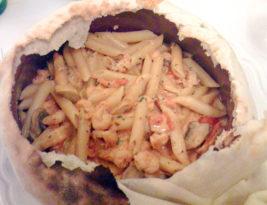 Sampling the pasta at Forno a Legna