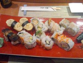 Sushi at Kamomé
