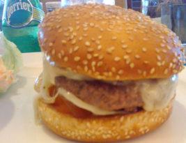 Burgers at Kempinski's