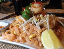 Pad Thai Noodles at Kha Tha Thai