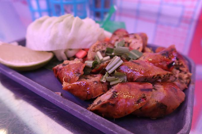 Soi Thai restaurant - pork sausage