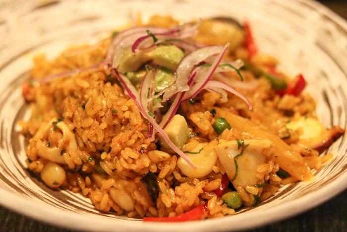 yakumanka arroz con marisco
