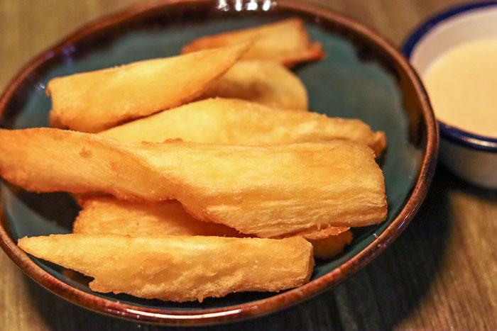 yakumanka yuca fries